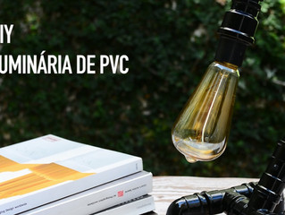 DIY: Luminária de canos de PVC
