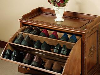 A melhor maneira de arrumar os sapatos