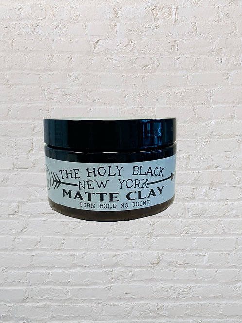 Holy black MATTE CLAY