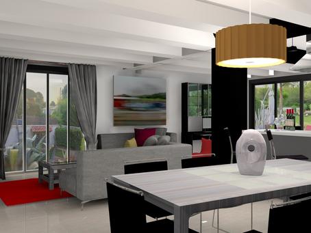 Nouveau projet : décoration d'intérieur d'une villa à Caveirac ...