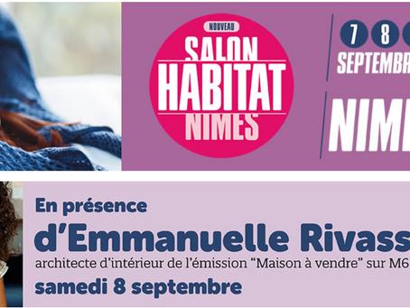 Salon de l'Habitat à Nîmes spécialisé dans la décoration d'intérieur : nous y serons !
