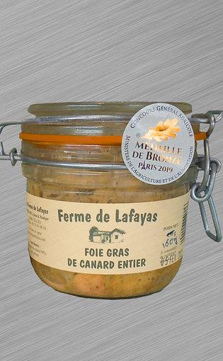 Foie gras de canard entier Bocal 180 g