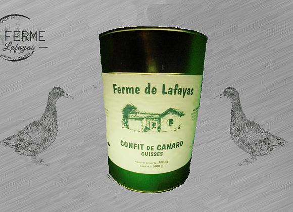 Confit de canard (cuisses) 3000 g