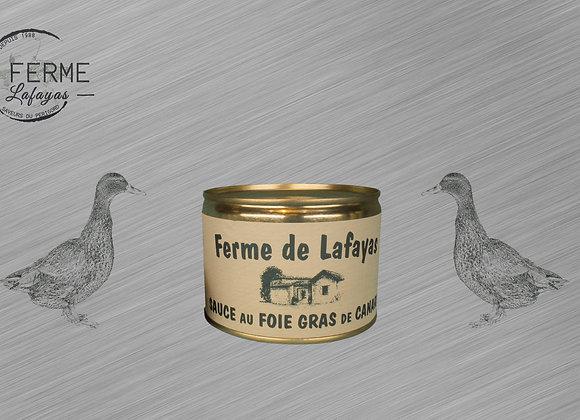 Sauce au foie gras de canard 250 G