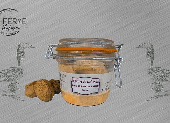 Foie gras d'oie entier truffes 310 g