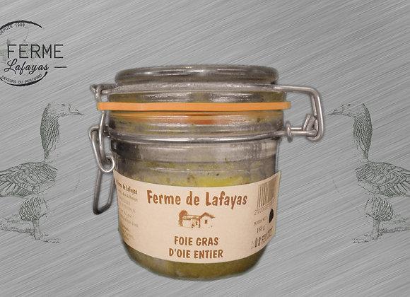 Foie gras d'oie entier 310 g