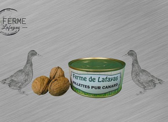 Rillettes pur canard 250 g