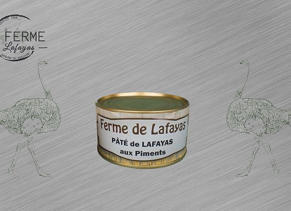 Pate de Lafayas aux piments 130 g