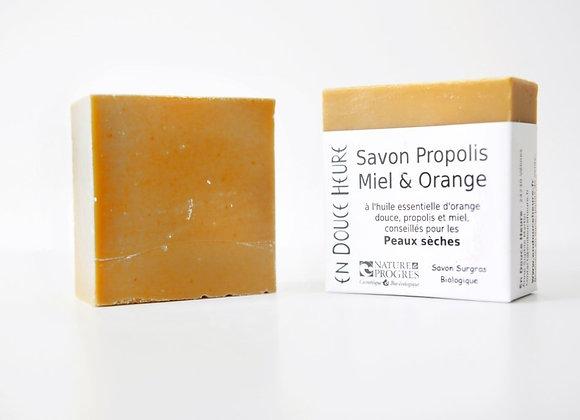 Savon Propolis Miel Orange