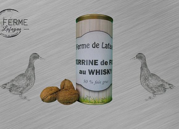 Terrine de foie au whisky 580 g