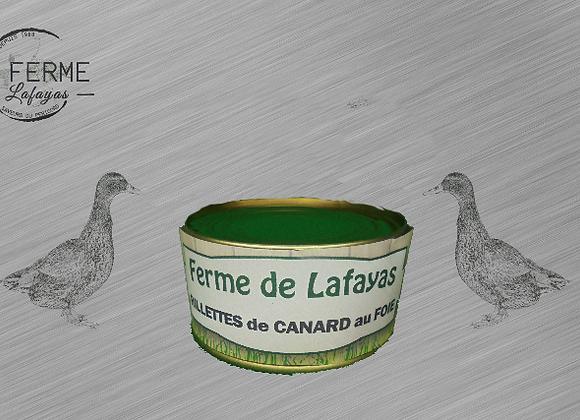 Rillettes de canard au foie 130 g