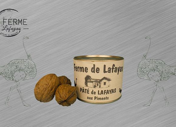 Pate de Lafayas aux piments 250g