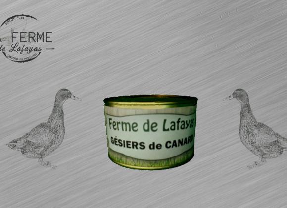 Gesiers de canard 210 g