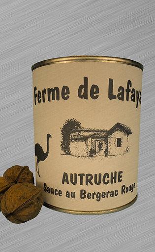 Autruche sauce Bergerac Rouge 840g