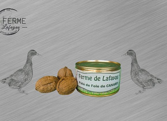 Patee de foie de canard (50% foie de canard) boite 190 g