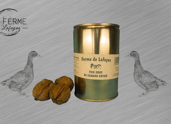 Foie gras de canard entier boite 380 g