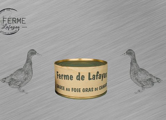 Sauce au foie gras de canard 130 G