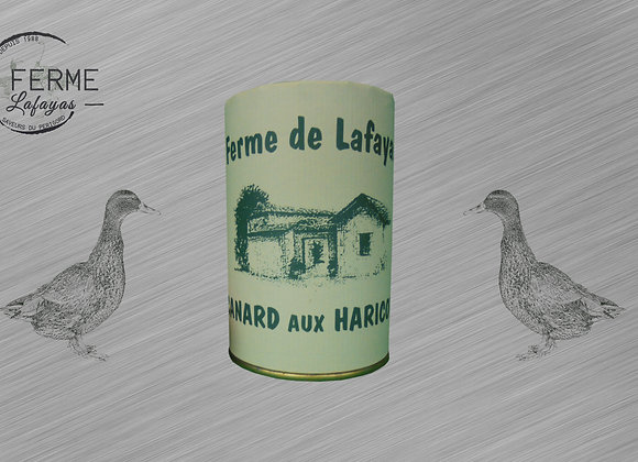 Canard aux haricots 420 g