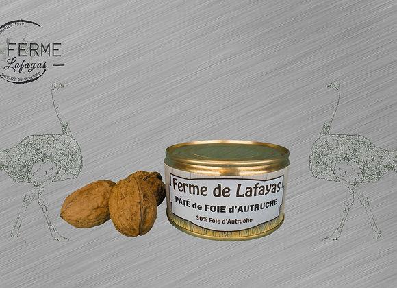 Pate de foie d'autruche 190 g
