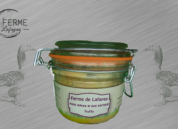 Foie gras d'oie entier truffes 180 g