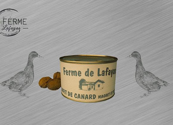 Confit de canard cuisse + magret 425 g