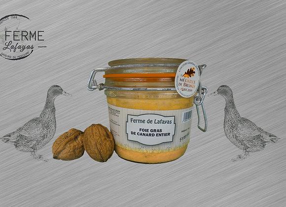 Foie gras de canard entier bocal 310 g