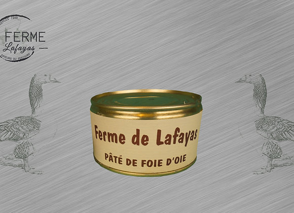 Pate de foie d'oie 50% foie gras 190 g