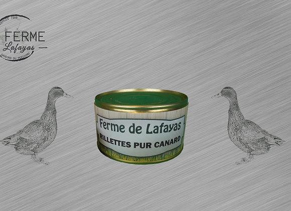 Rillettes pur canard 190 g