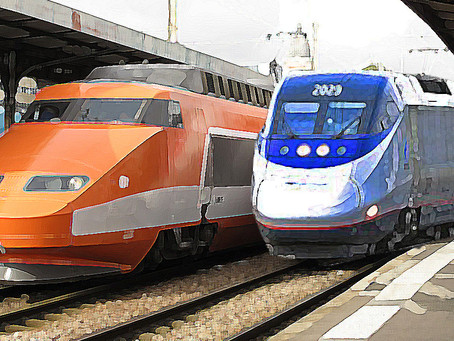 The French TGV in America