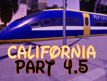 California's Adventure - Part 4.5; Destination Palmdale