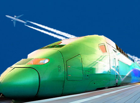How High Speed Rail may save the Airlines
