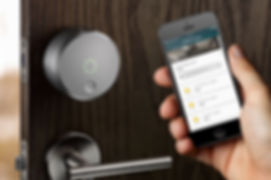 August Smart Lock_ Allows voice or phone
