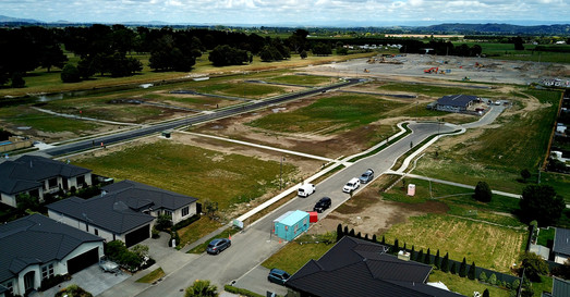 Lot 18,19, construction nearly completed