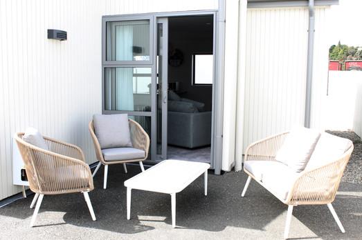 Outdoor cortyard - Villa 9