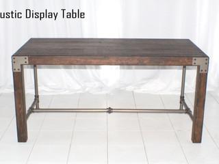 Rustic Display Table