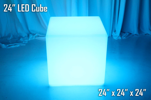24 Inch LED Cube