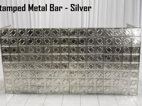 Stamped Metal Bar - 8Ft.
