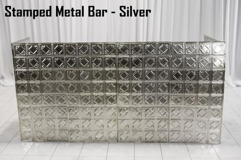 Stamped Metal Bar 8 Ft
