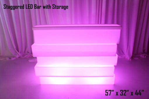 Staggered LED Bar