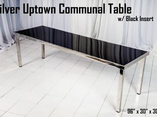 Silver Uptown Communal Table Black Insert.jpg