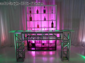 Truss Bar Straight LED Lit
