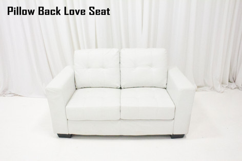 Pillow Back Love Seat