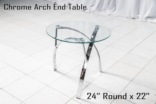 Chrome Arch End Table copy