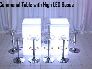 LED & Acrylic Communal Table