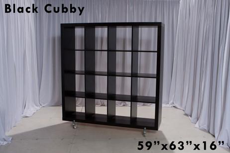 Black Cubby