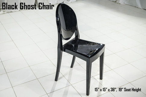 Black Ghost Chair