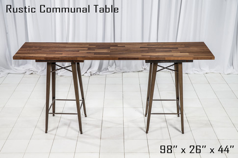 Rustic Communal Table copy