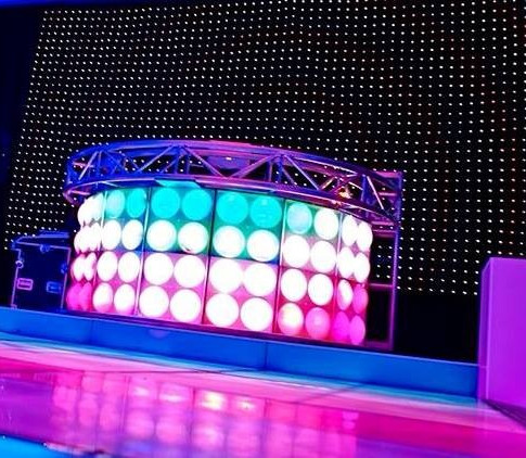 Rounded Bubble DJ Booth