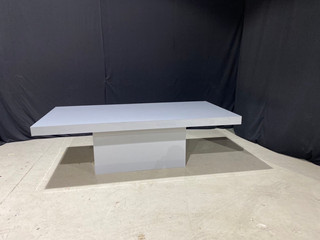 EP Grey Acrylic 4' x 8' Dinner Table
