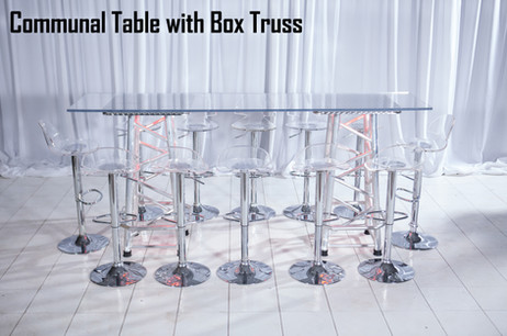 Communal Table with Box Truss